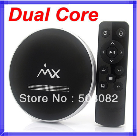 MX Android 4.2 1080P Full HD TV BOX android WiFi Google Media Player HDMI Dual Core Cortex A9 1.5GHz 1GB/8GB
