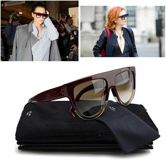 2015 France Brand Designer Audrey original sunglasses Shadow sunglasses 41026 Fashion women glasses With original box in stock(China (Mainland))