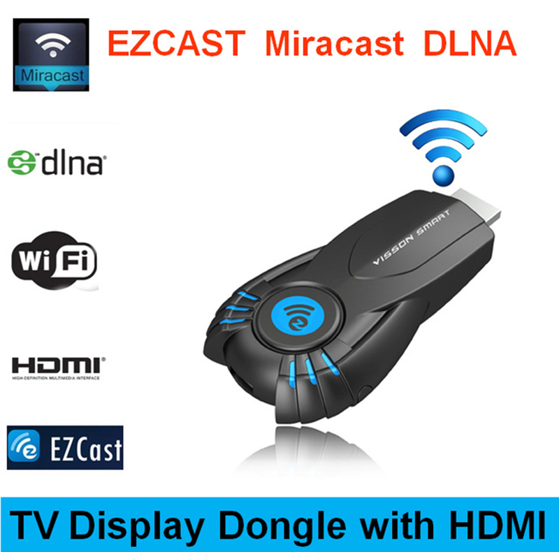 Hot sale newest 1080P wireless Smart TV Stick Ezcast Miracast Dongle DLNA+Miracast+Airplay for IPhone for Samsung for OS Windows<br><br>Aliexpress