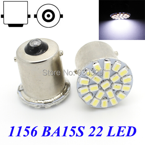1 1156 SMD turn signal reverse light, BA15S P21W 3528 22SMD Car led lamp - Shenzhen Ruxi Optoelectronic Co., Ltd. store