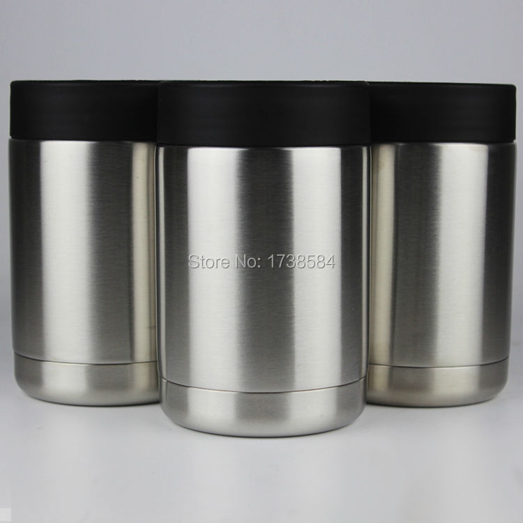 12oz double wall stainless steel yeti cup,can cooler tumber vacuum insulated can holder,cold hot cup can colder(China (Mainland))