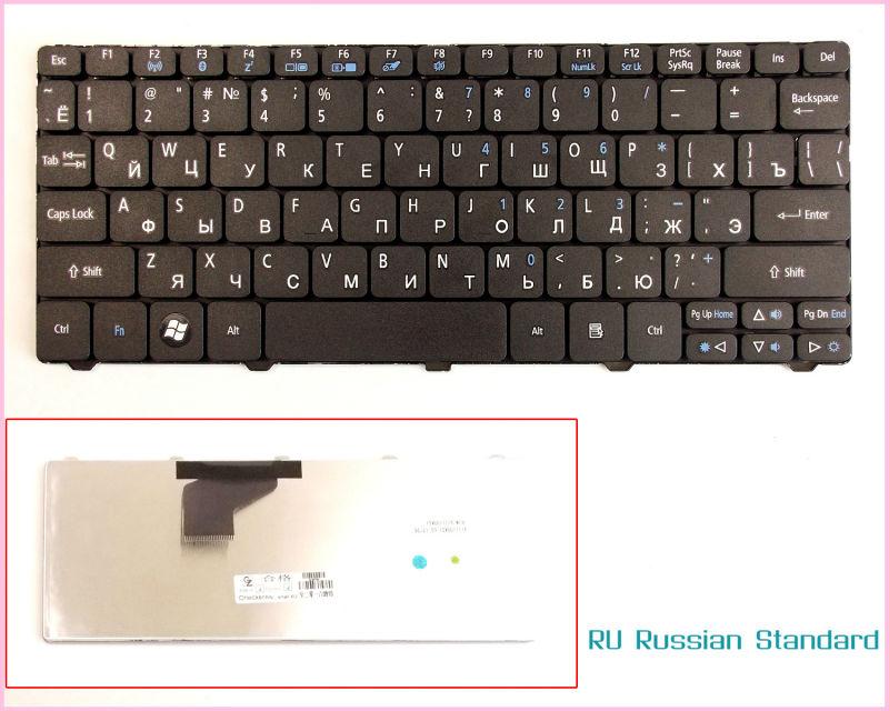 Laptop Keyboard for Acer Acer Emachine 350 eM350 NAV51 RU Russian Version Black(China (Mainland))