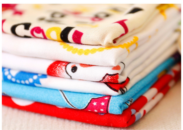 6pcs 50x50cm Animal World Artificial cotton Fabric Meter For Sewing Textiles Diy Quilting Patchwork Tissue Kids Bedding(China (Mainland))