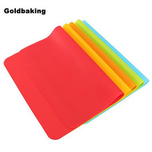 Rectangle 30*40cm Silicone Place Mats Heat Resistant Non Slip Table Mats(China (Mainland))
