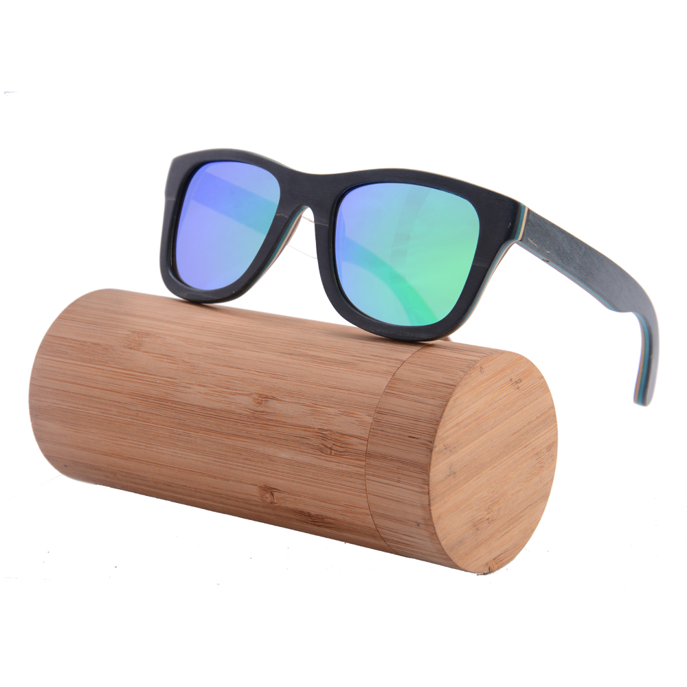Wooden Frame Glasses Philippines : Skateboard wooden Bamboo Sunglasses polarized Revo Wooden ...