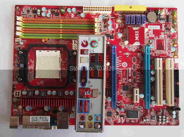 Новый K9A2 CF настольных материнских плат MSI MS 7388 материнскими платами AM2 процессора PCIE X16 Crossfire Motheboard купить н
