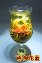 2015 Top Fashion Sale 16 Kinds of Handmade Blooming Flower Tea Chinese Ball Herbal Artistic The