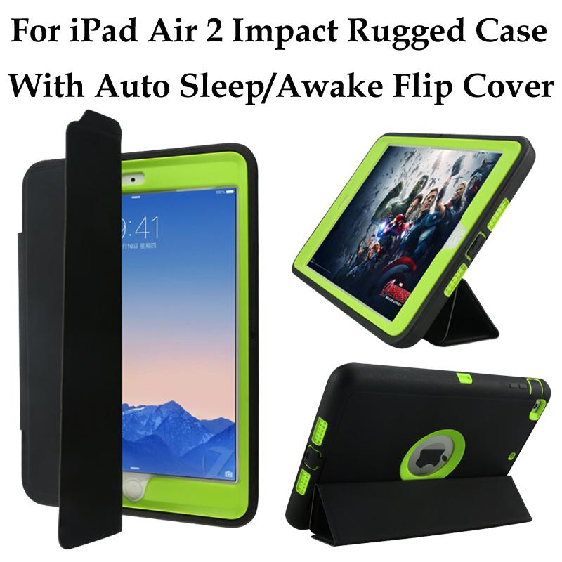 For iPad 2/3/4/Air 2/Pro Heavy Duty Armor Case Rugged