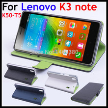 Mixed Color High Quality luxury Leather Case For Lenovo K3 note K50-T5 K 3 50 T 5 Flip Covers case with credit card holders(China (Mainland))