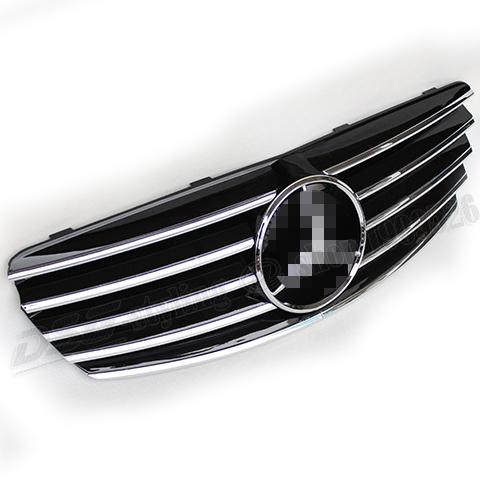 Mercedes W211 Black Bumper Grill fit for Mercedes-Benz 2003-2006 W211 4-door Sedan and 5-door Station Wagon<br><br>Aliexpress