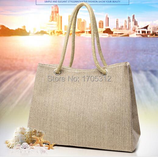 Summer style Beach Bag capazos de playa jute beach baskets bags for women messenger bags best handbag brand michael bags totebag(China (Mainland))