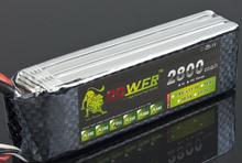 free shipping high capacity Lipo battery Li-poly Lithium-Polymer Power 11.1v 2800mah 3S 30c Akku bateria for rc helicopter model