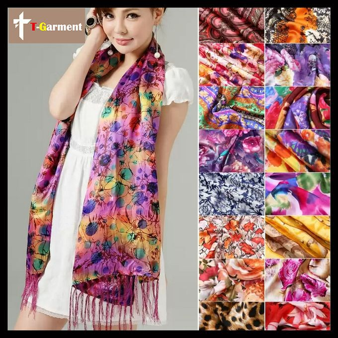 desigual spain necklace Women silk scarf ,ladies flower scarves,100% real silk scarves shawl sunscreen ZS34(China (Mainland))