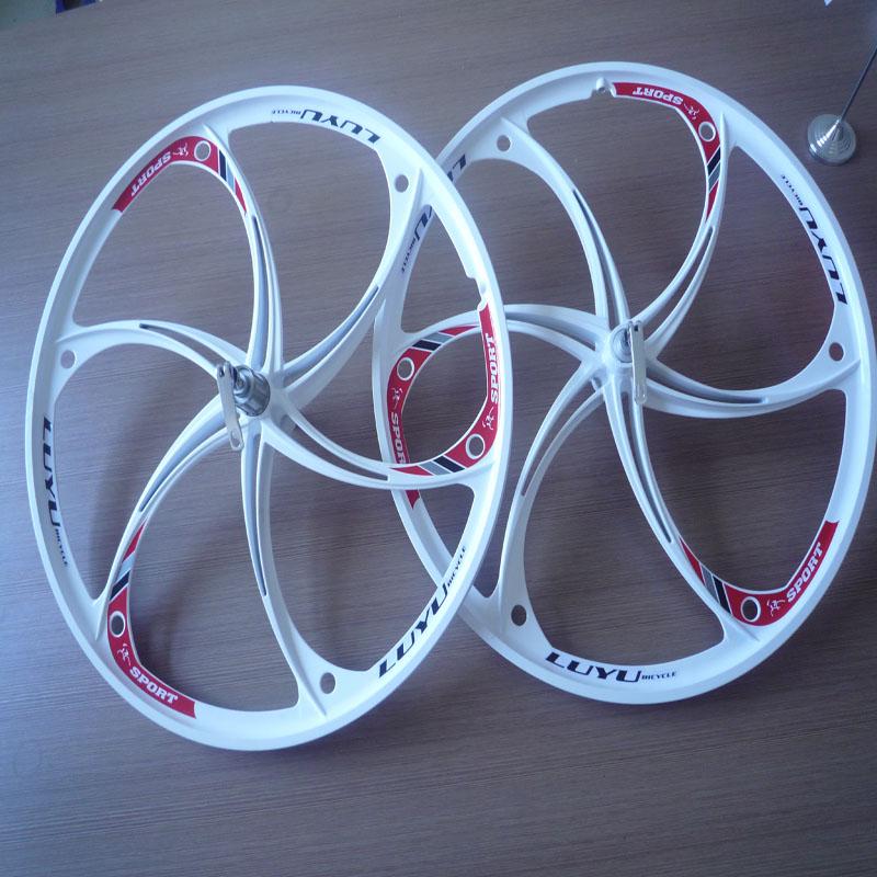 306/Alloy Wheels bike one group / 26-inch mountain bike wheels / rims /card fly / rotodyne / disc brakes(China (Mainland))