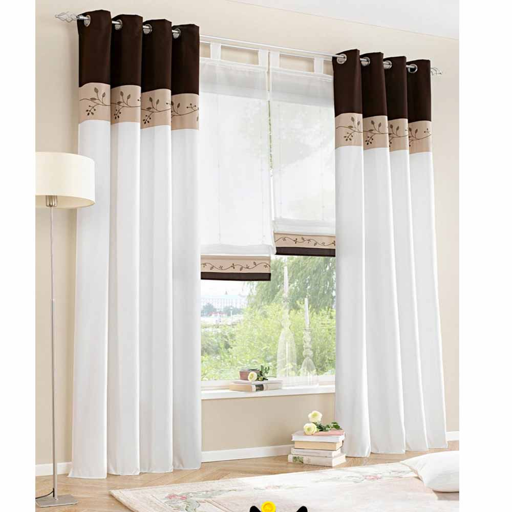 only 2015 new white living room curtains bedroom window curtain