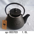 Hand Made Chinese Cast Iron And Copper Teapot Thermal Drinkware Tea Set Kung Fu Tea Pot