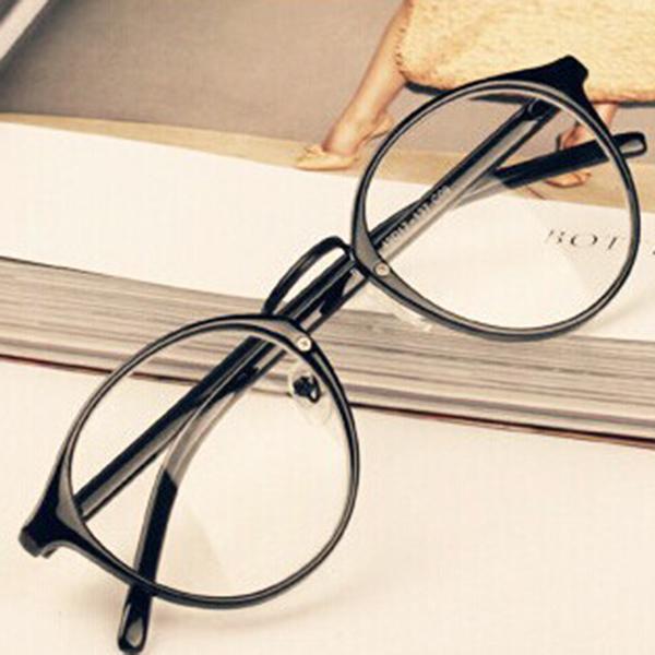 Mens Womens Nerd Glasses Clear Lens Eyewear Unisex Retro Eyeglasses Spectacles(China (Mainland))