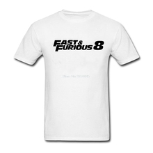 Buy New Guys T Shirt 2017 Summer Fashion Round Collar Fast Furious 8 T-shirt Short-Sleeved Print Tshirts Mens Casual T Shirt 3XL for $12.24 in AliExpress store