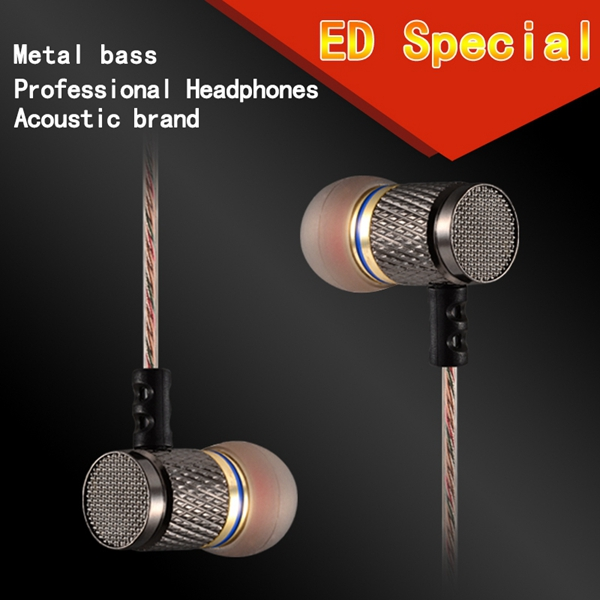 Original kz-EDR1 Earphone In-Ear Metal magic sound bass headset Special Use Earburd With MIc or Not Decide on you for smartphone (12)