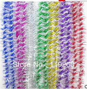 Free Shipping wedding wholesale Christmas ribbons striped spent Christmas decorations multiple color random delivery