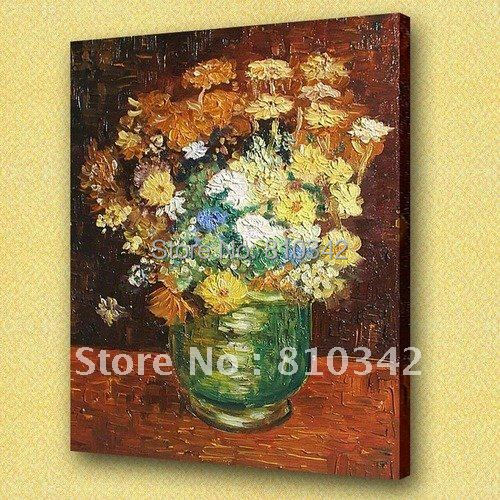 Van Gogh oil painting thick textured canvas oil paintings for bedroom U2VG06(China (Mainland))