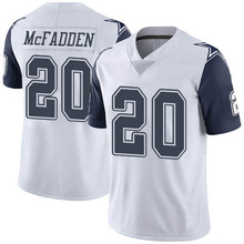 Men's #20 Darren McFadden Elite White Rush Jersey 100% stitched(China (Mainland))