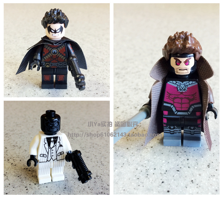 2015 pogo Gambit red robin Black Mask super heros minifigures blocks enlighten brick toys children gift Compatible With Lego<br><br>Aliexpress
