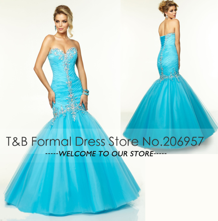 Agree, the blue and orange prom dresses