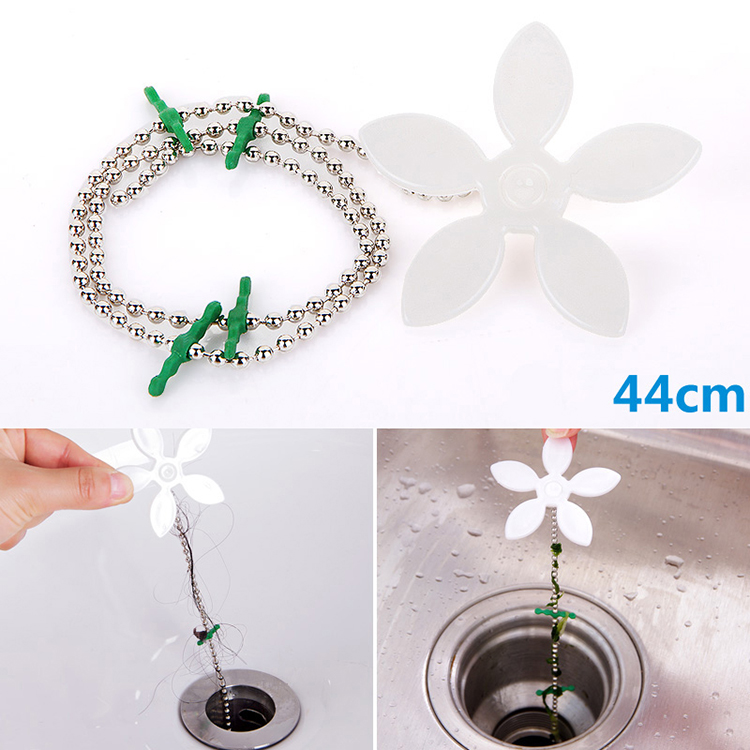 Bathroom Hair Sewer Filter Drain Outlet Kitchen Sink Filter Strainer Drain Cleaners Anti Clogging Floor Wig Removal Clog Tools(China (Mainland))
