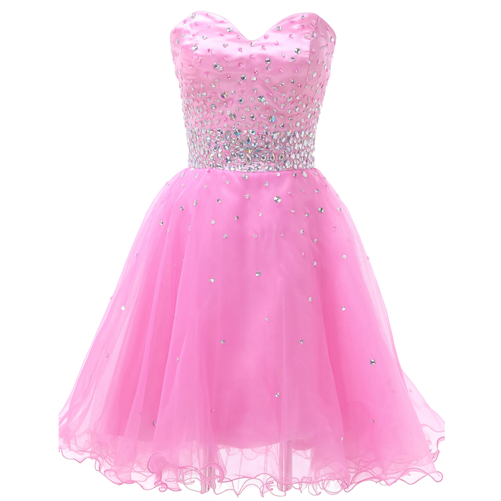 popular pink puffy prom dressesbuy cheap pink puffy prom