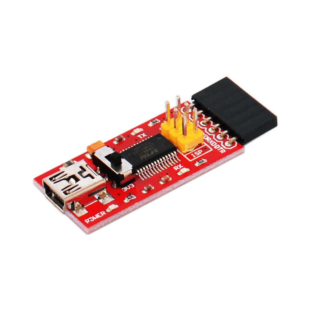 keyestudio FTDI Basic Program Downloader USB to TTL //FT232 Converter with USB Cable for Arduino