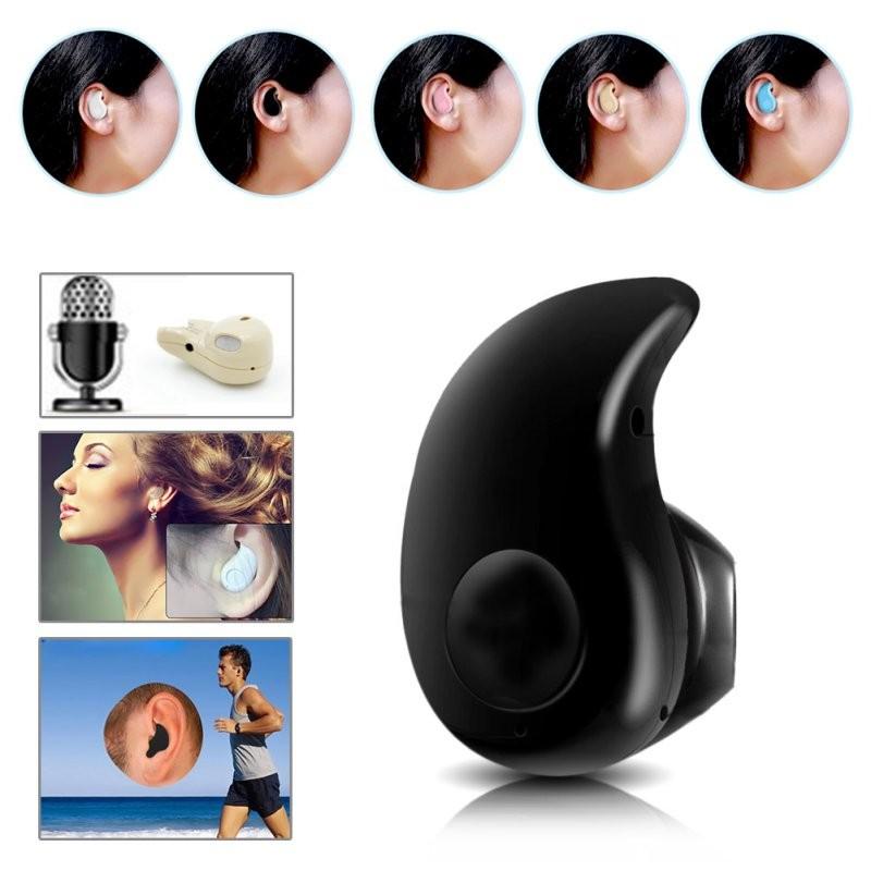 4.0 Stereo In-Ear Headset Mini Wireless Bluetooth Earphone Earpiece Universal