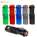 SANYI 2000 Lumens Flashlight Torch Q5 LED Zoomable 3 Modes Mini Camping Hunting Flash Light Lantern