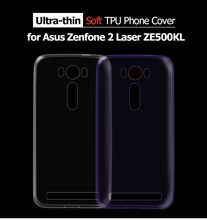 Ultrathin TPU Protective Cover Case Asus Zenfone 2 Laser ZE500KL Z00ED 5.0 inch Mobile Phone Gel Soft Cases Zenfone2 - Shenzhen TVCMALL Co., Ltd. Store store