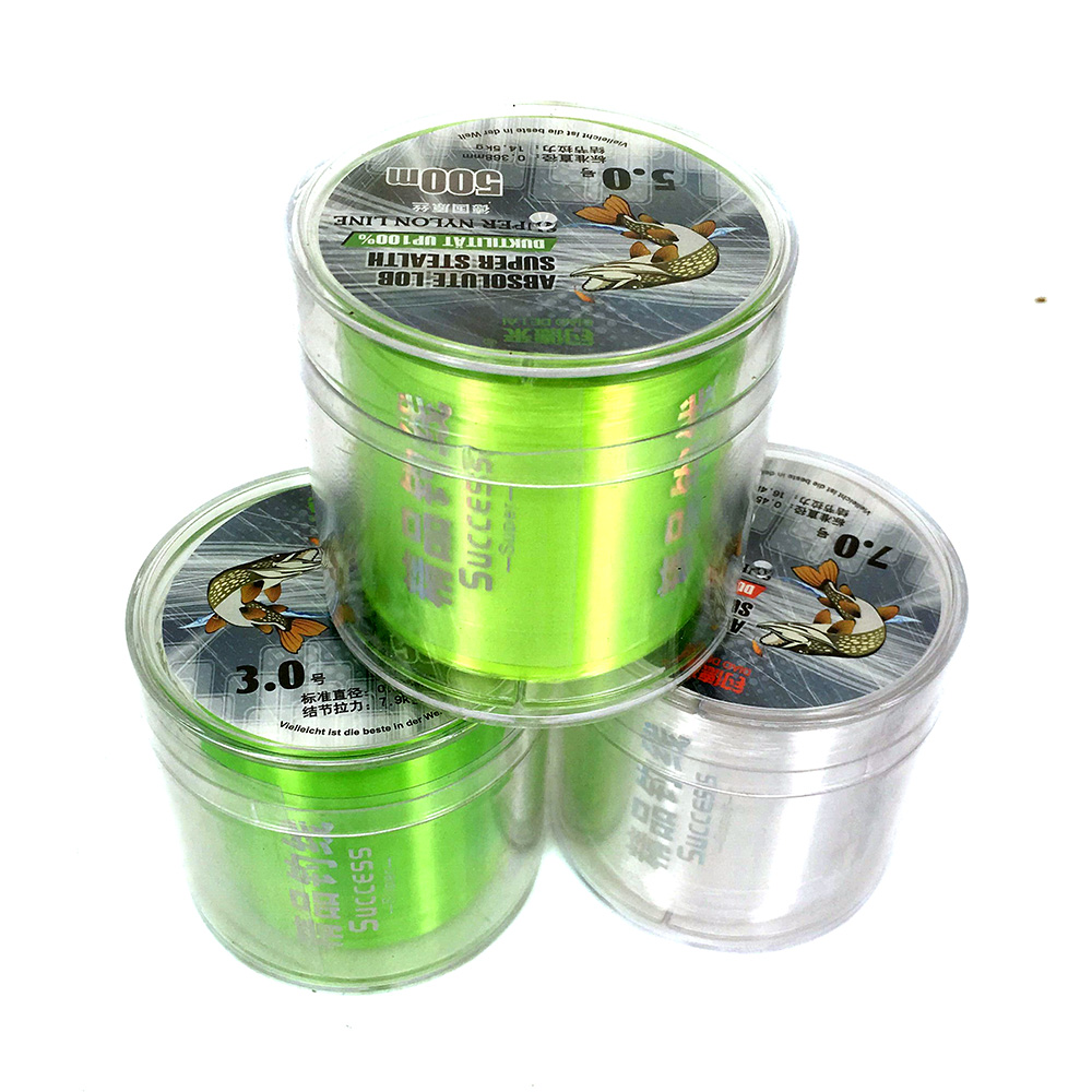 Best Quality 3.0# 5.0# 7.0# 500M Monofilament Nylon Fishing Line Fishing Material from German Jig Carp Fish Line Wire(China (Mainland))
