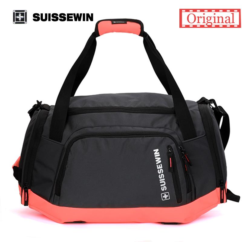 Suissewin Big Capacity Crossbody Bag SN5015 Waterproof Laptop swissgear wenger Bag Fashion Multi-Pockets Bag Brand Gym Bag(China (Mainland))