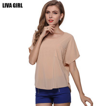 Summer Style Comfortable O-Neck Loose Women T Shirt Batwing Women T Shirt With Pocket Pullover Long Sleeve XXL Ladies T-shirt