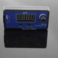 HJ 1-4S Digital Servo Tester/ESC Consistency Tester for RC Helicopter Servo