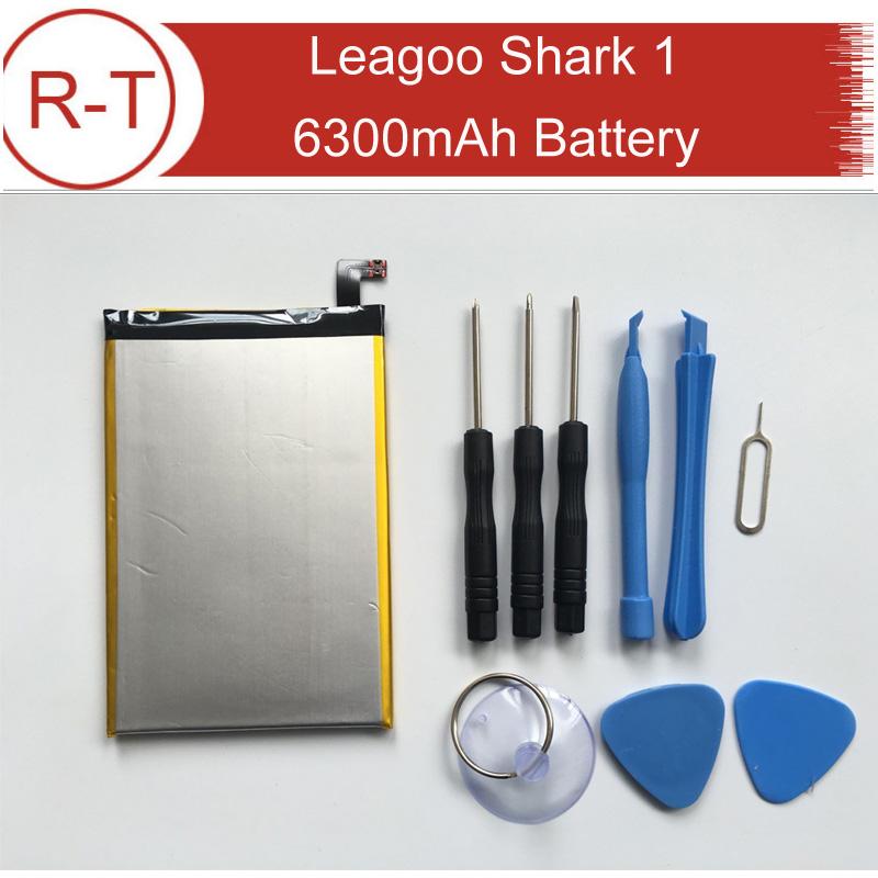 Leagoo Shark 1 Battery Larger capacity 6300Mah Battery Replacement High Quality Backup Battery For Leagoo Shark 1 free Tools(China (Mainland))