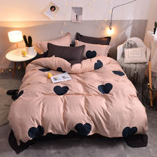 Planet 4pcs Kid Bed Cover Set Cartoon Duvet Cover Adult Child King Size Comforter Bedding Sets 2TJ-61005(China)