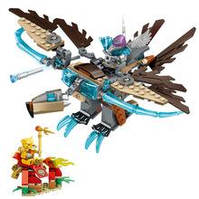 LELE Ice Vulture Glider CHIMAed 227pcs Building Blocks DIY Assemble Figure Enlighten Bricks Toys myeddis