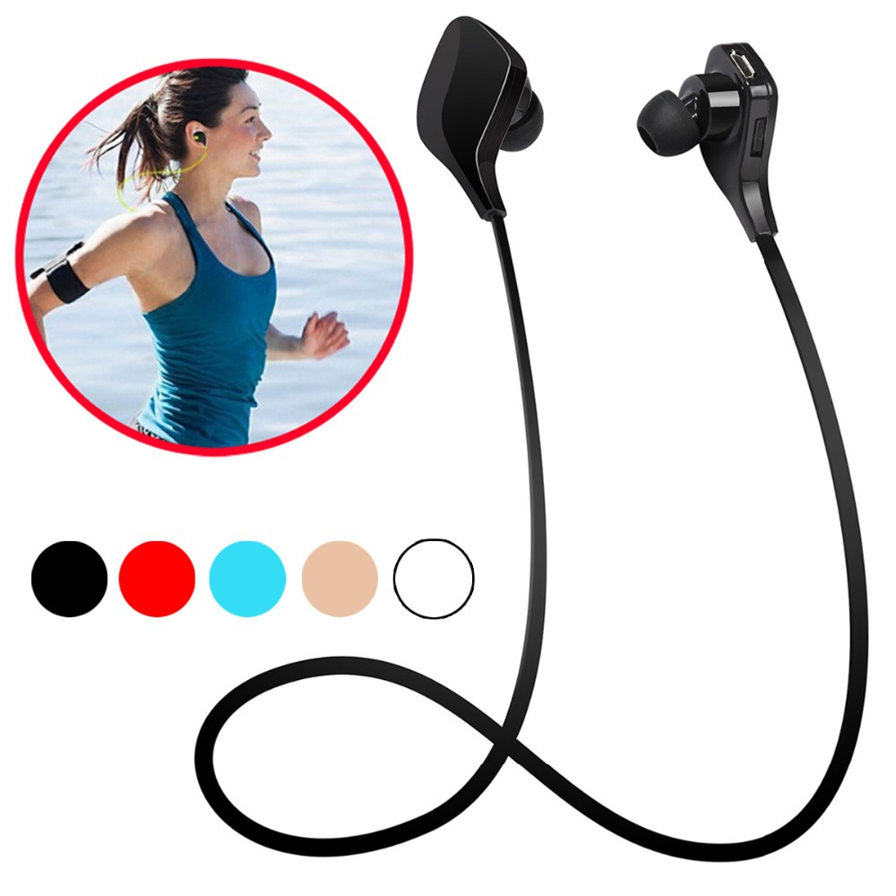 Hot !H3 Bluetooth Headset Earphones Wireless Sport Running Stereo Headphones Music Player With Microphone For iPhone Samsung HTC(China (Mainland))