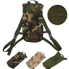 2015 New Hot! Military Style Waterproof 600D Nylon Hydration Pack Backpack for Camping Hiking Cycling Running Walking Free Ship(China (Mainland))
