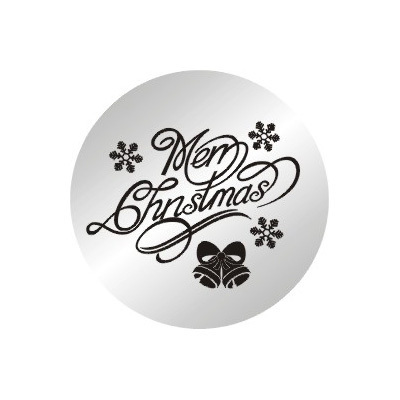 10pcs/lot 2014 New 22mm Merry Christmas Stainless Steel Plates Floating Charms For 30MM Glass Lockets(China (Mainland))