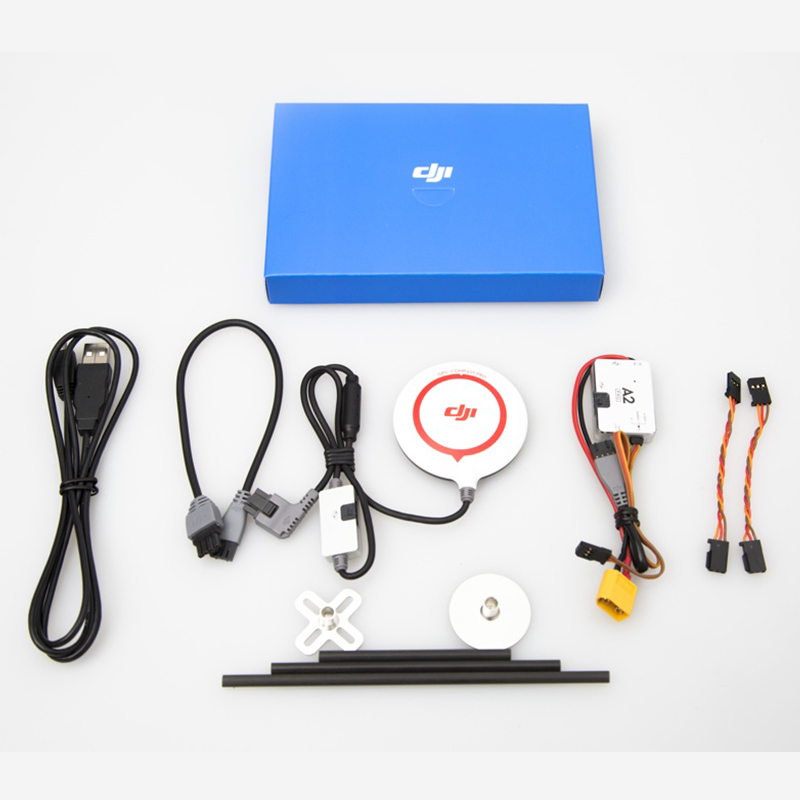 Newest DJI A2 DIY Quadcopter Flight Controller + iOSD Mark II Combo & 2.4G BT Wireless Radio Bluetooth Datalink Fast Shipping(China (Mainland))