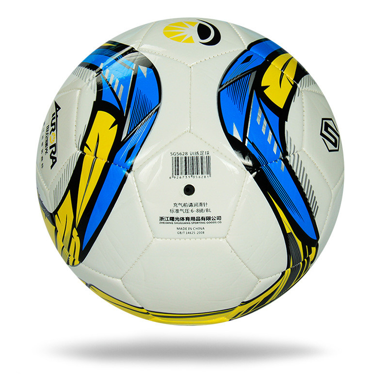 POINT BREAK Manufacturers selling machine stitched soccer football 5 5 large amount of support wholesale custom PU football(China (Mainland))