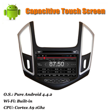 Cruze 2013 2014 New Android 4.22 Car DVD GPS SatNavi Dual Core Audio/Stereo System with Canbus WiFi Radio ATV 3D Maps Bluetooth