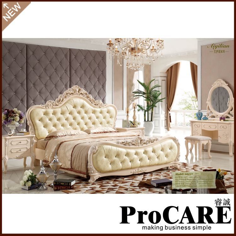 Luxury bedroom furniture set 1 8m big bed european style bedroom sets - Popular Royal Style Furniture Buy Cheap Royal Style