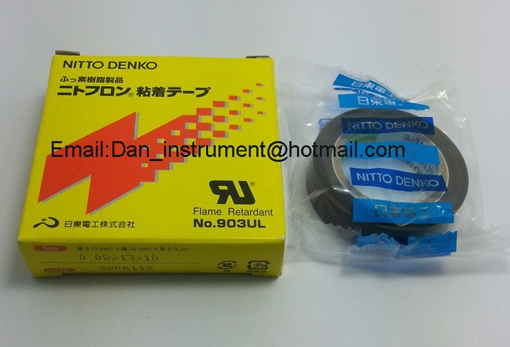 Nitto Denko Nitoflon Tape 903UL T0.08mm*W13mm*L10m For Bag Sealing Machine