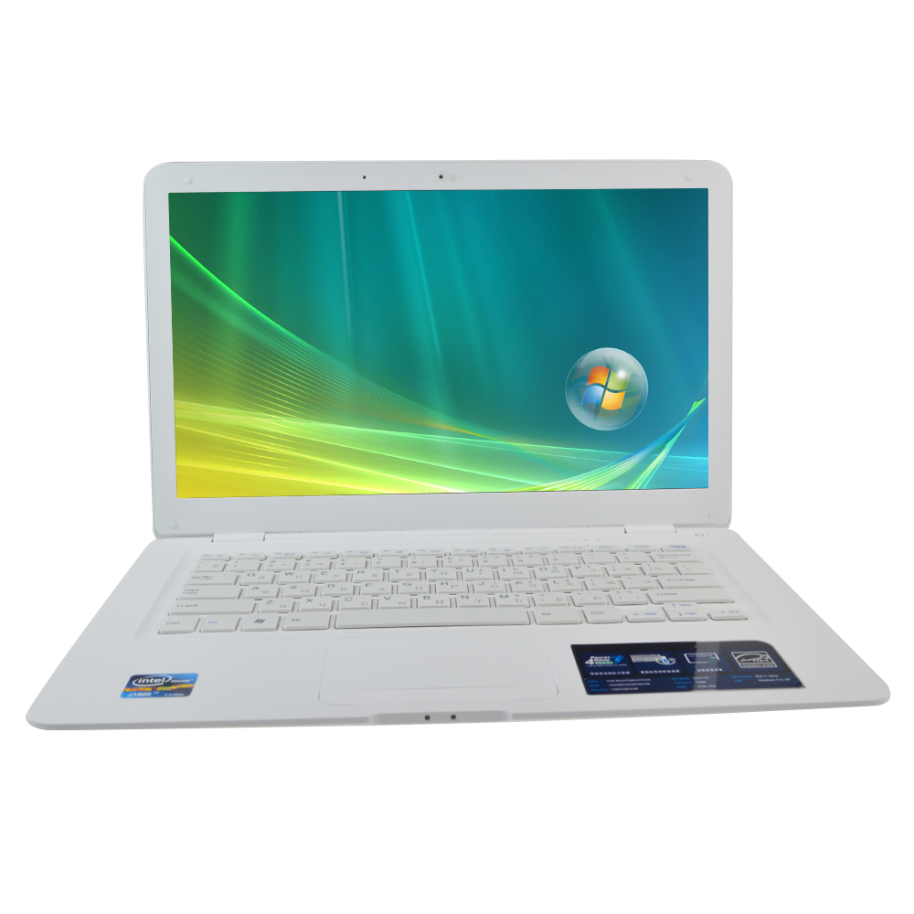 14.1 inch Laptop Notebook Computer with Intel Celeron J1800 Dual Core 2.41ghz 2GB RAM+320GB HDD WIFI Win 7 Webcam(China (Mainland))